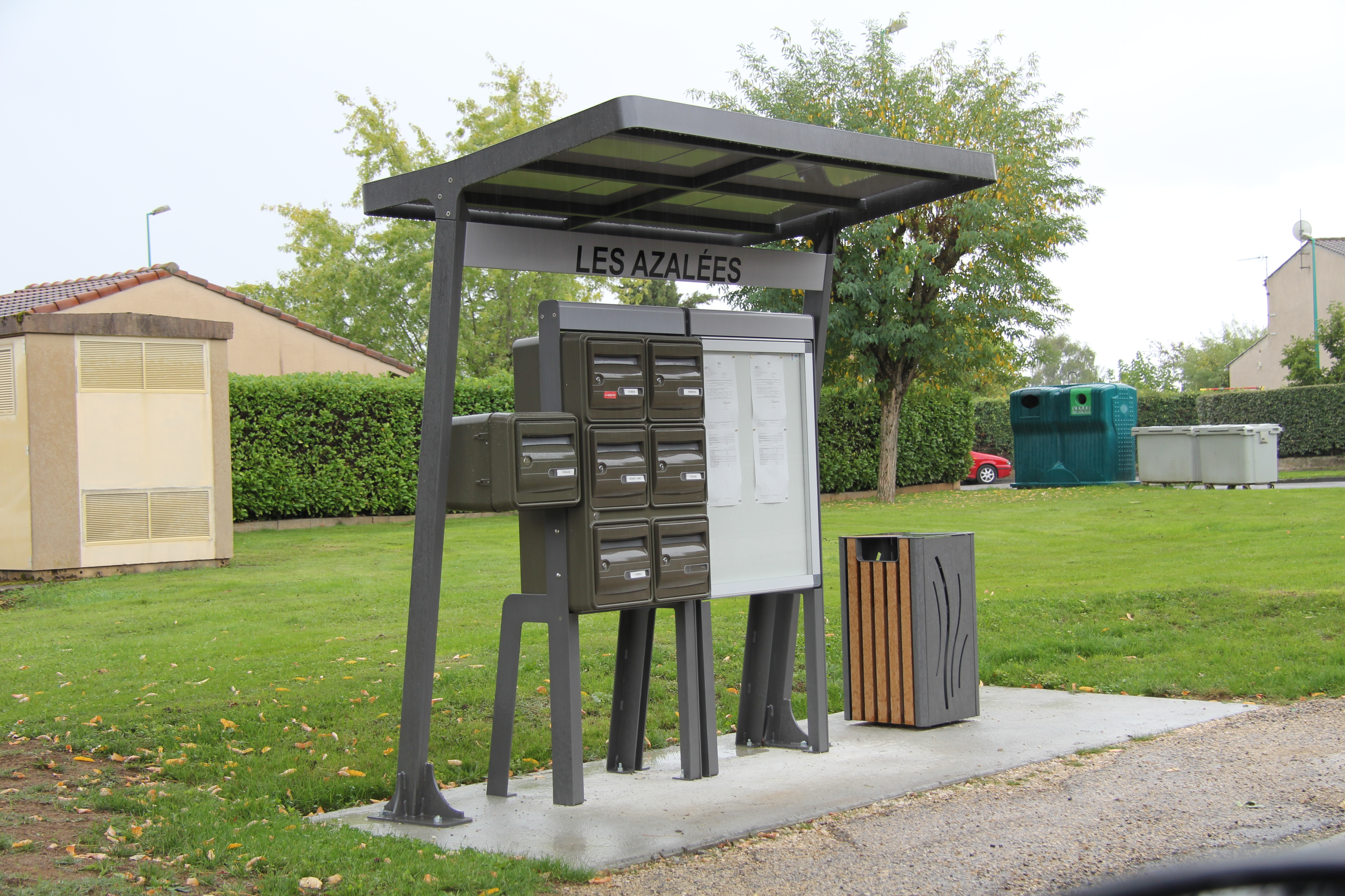 Kiosque avec mobilier Abrico